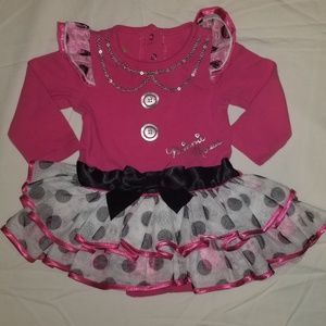 💚6mo minnie mouse tutu dress